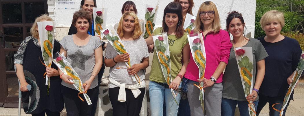 Celebración Sant Jordi en el CTA Can Parellada de Dianova