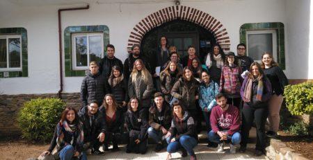 Alumnos de Integración social visitan el CTA de Can Parellada