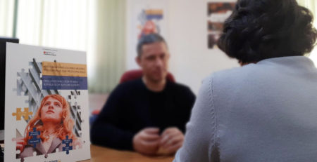 Atención a mujeres refugiadas en Dianova