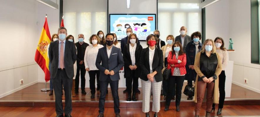 Foto premiados Reconocimiento Infancia 2020 comunidad de Madrid