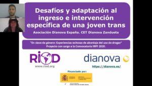 Desafíos y adaptación al ingreso e intervención específica de una joven trans.